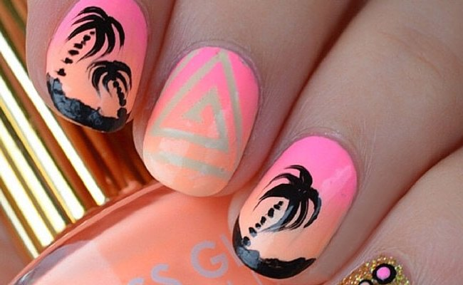 30 Eye Catching Summer Nail Art Designs Stayglam