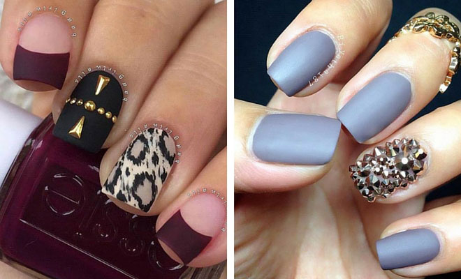25 Matte Nail Designs You\u0027ll Want to Copy this Fall StayGlam