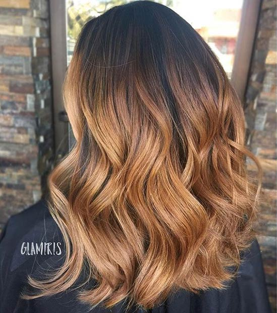 Karamell Braune Haare 41 Hottest Balayage Hair Color Ideas For 2016 | Page 2 Of