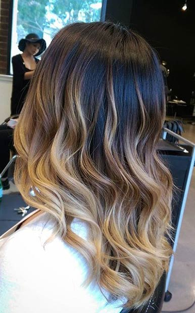 Natural Blonde Highlights On Dark Brown Hair 31 Balayage Highlight Ideas To Copy Now Page 2 Of 3