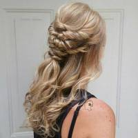 Half Up Hairstyles For Wedding Guest