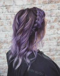25 Beautiful Lavender Hair Color Ideas | StayGlam