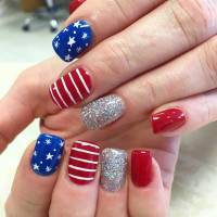 31 Patriotic Nail Ideas for the 4th of July   Page 2 of 3 ...