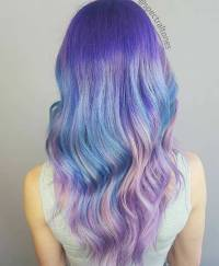 25 Amazing Blue and Purple Hair Looks | StayGlam