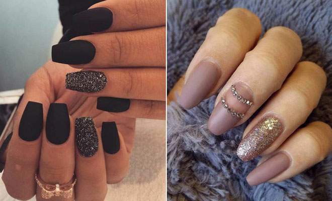 25 Cool Matte Nail Designs To Copy In 2017 Page 2 Of 3