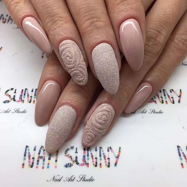 Prom Nail Designs For Short Nails : Elegant nail art designs for prom crazyforus