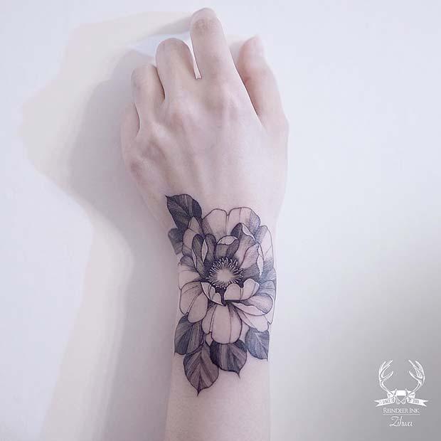 11 more stylish wrist tattoo ideas for women crazyforus. Black Bedroom Furniture Sets. Home Design Ideas