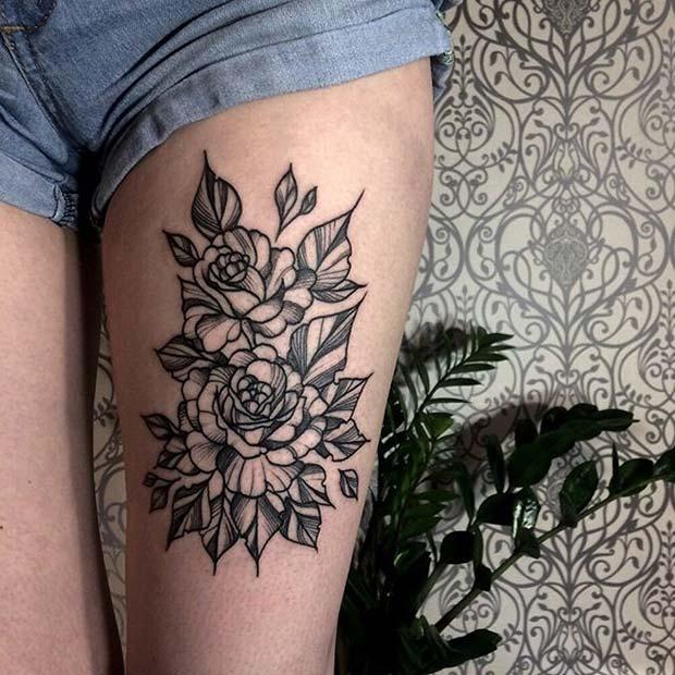 12 More Beautiful Flower Tattoo Ideas For Women Obsigen