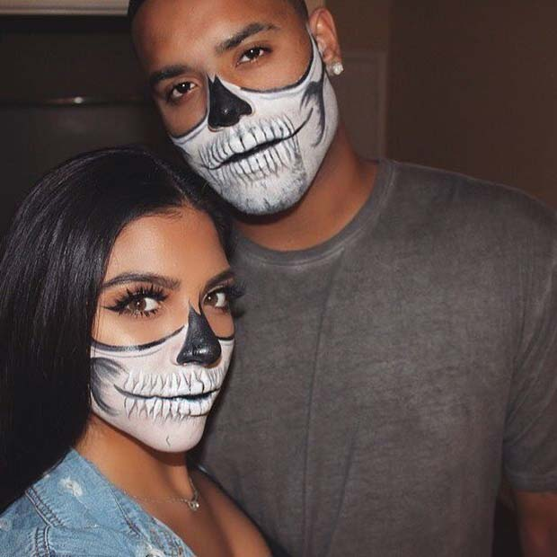 Matching Skeletons for Halloween