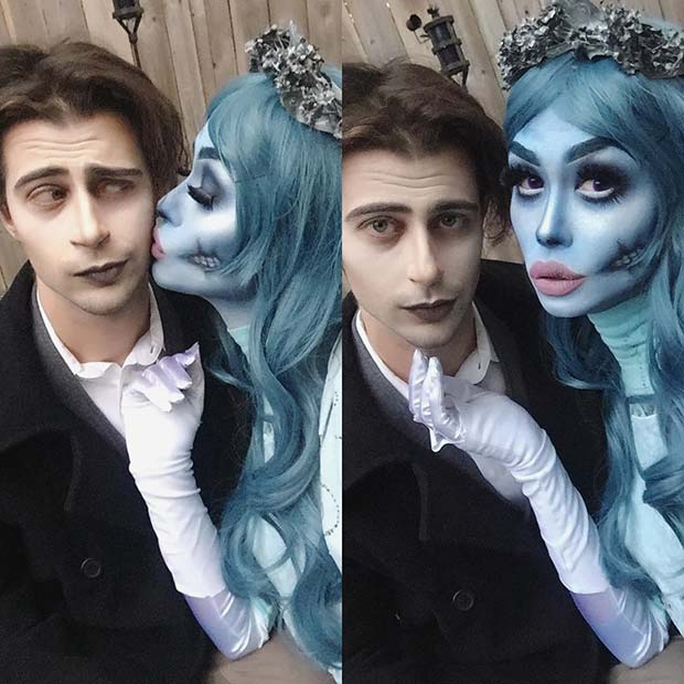 Corpse Bride Couple for Halloween