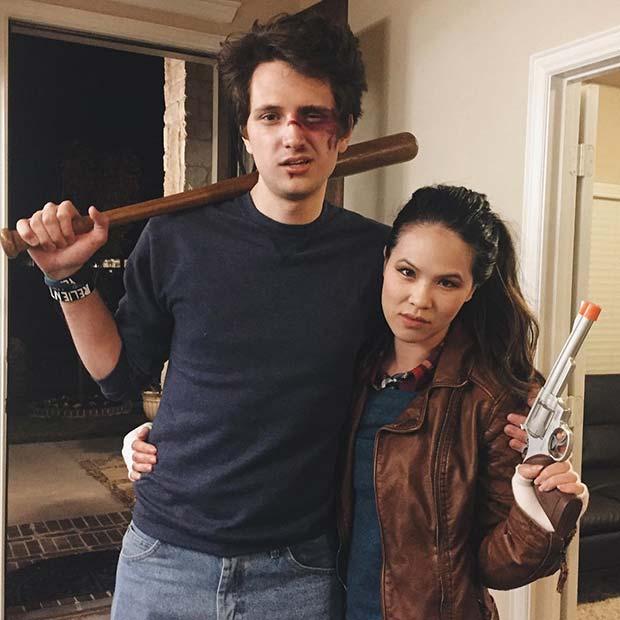 Stranger Things Nancy and Steve Halloween Costumes