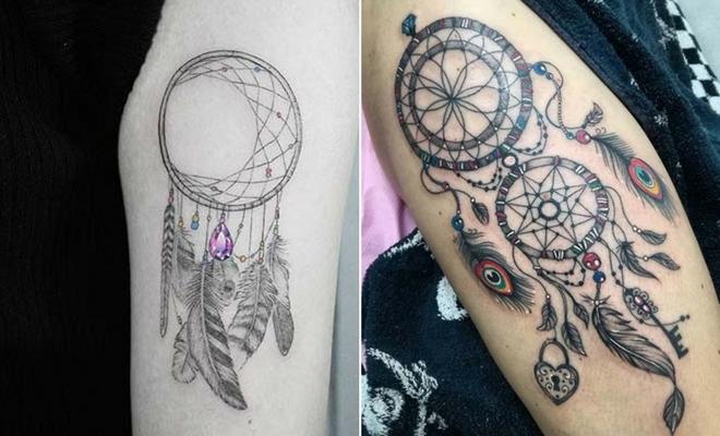 23 Amazing Dream Catcher Tattoo Ideas \u2013 StayGlam - Page 2