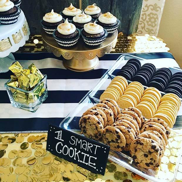 Graduation Party Smart Cookie Food Idea