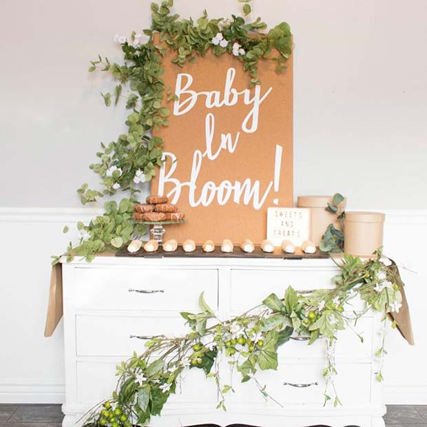 Baby in Bloom Spring Shower Idea