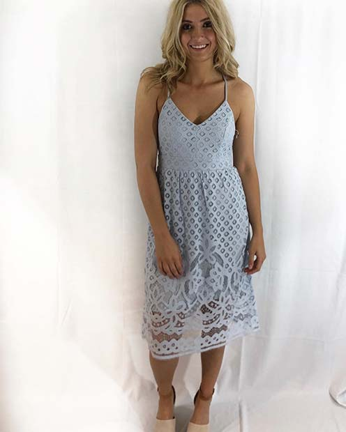 Light Lace Summer Dress Idea