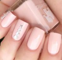 21 Elegant Nail Designs with Rhinestones | StayGlam