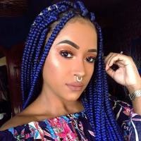 23 Pretty Box Braids with Color for Every Season | StayGlam