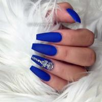 21 Matte Coffin Nails You Need to Try Right Now   StayGlam