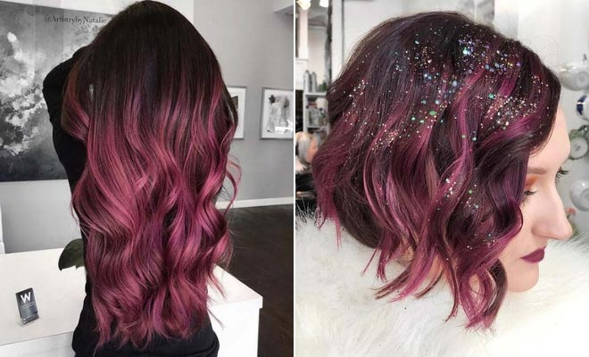 Pixie Cuts With Wavy Hair 43 Burgundy Hair Color Ideas And Styles For 2019 Stayglam