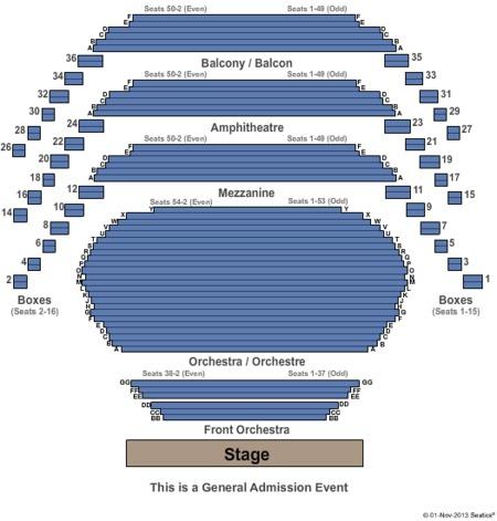 overture hall seating chart - Selomdigitalsite