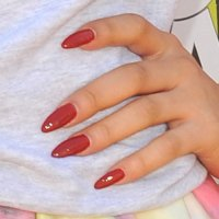 Zendaya Maroon Nails   Steal Her Style