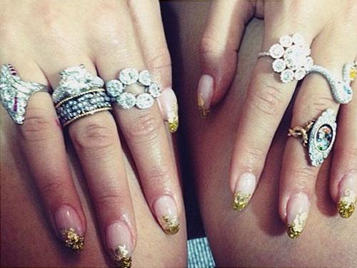 Rita Ora39s Nail Polish Nail Art Steal Her Style Page 5
