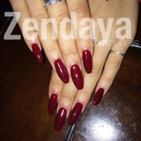Coffin Shaped Nails   Steal Her Style