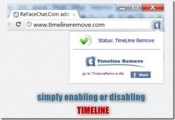 Como podemos desativar o novo Facebook interface de linha de tempo
