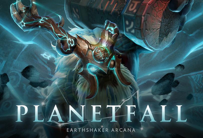 Free Fall Wallpaper Apps Dota 2 Planetfall Earthshaker Arcana