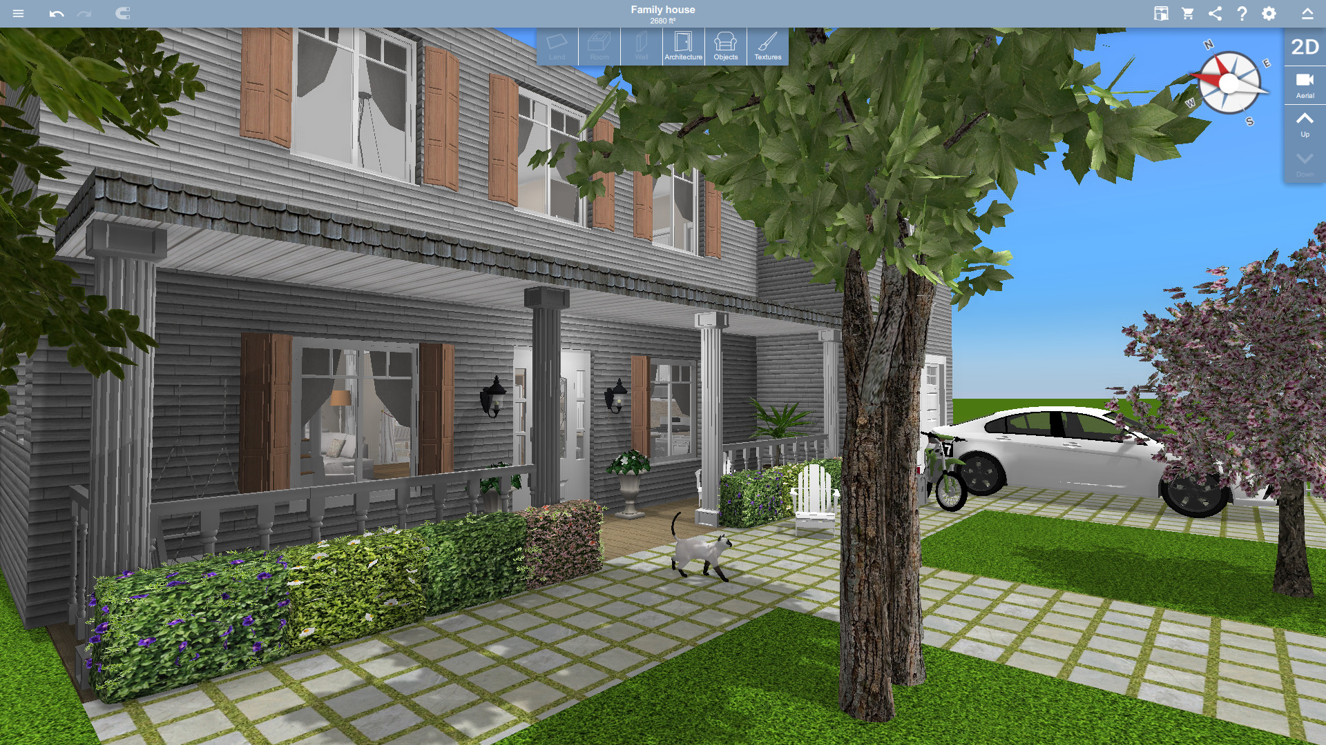 Layout Rumah Type 70 Home Design 3d