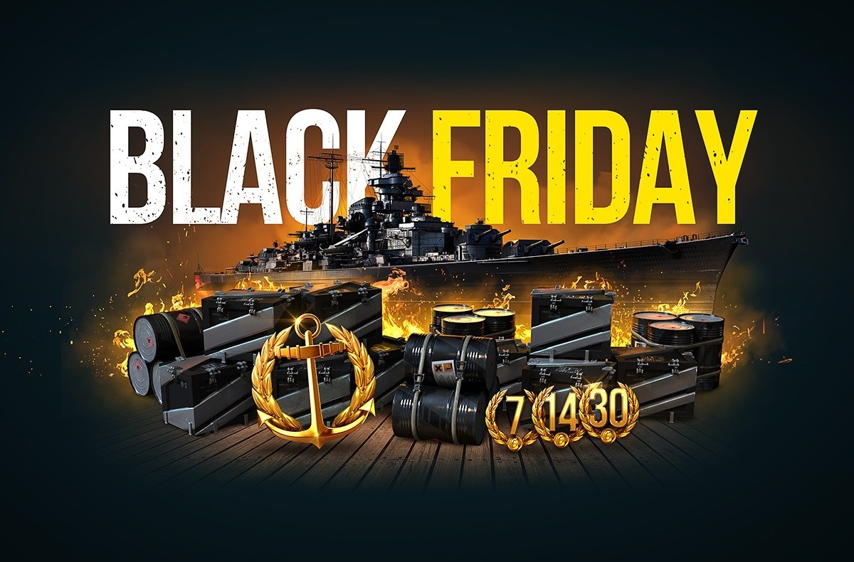 Rabatte Black Friday World Of Warships Black Friday In World Of Warships Huge