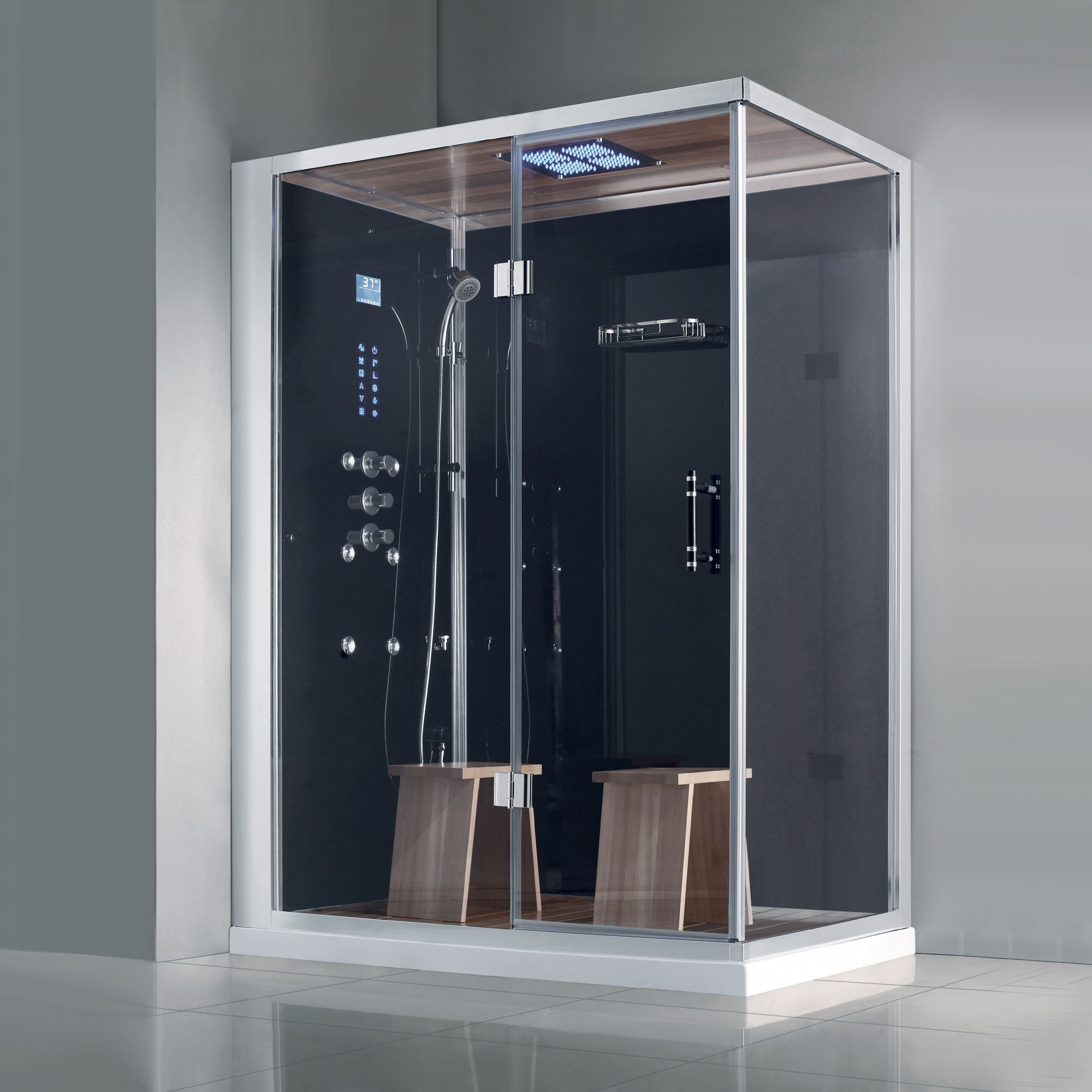 Douchecabine Accessoires Athena Ws141r Steam Shower Steam Shower Kit Steam Cabin