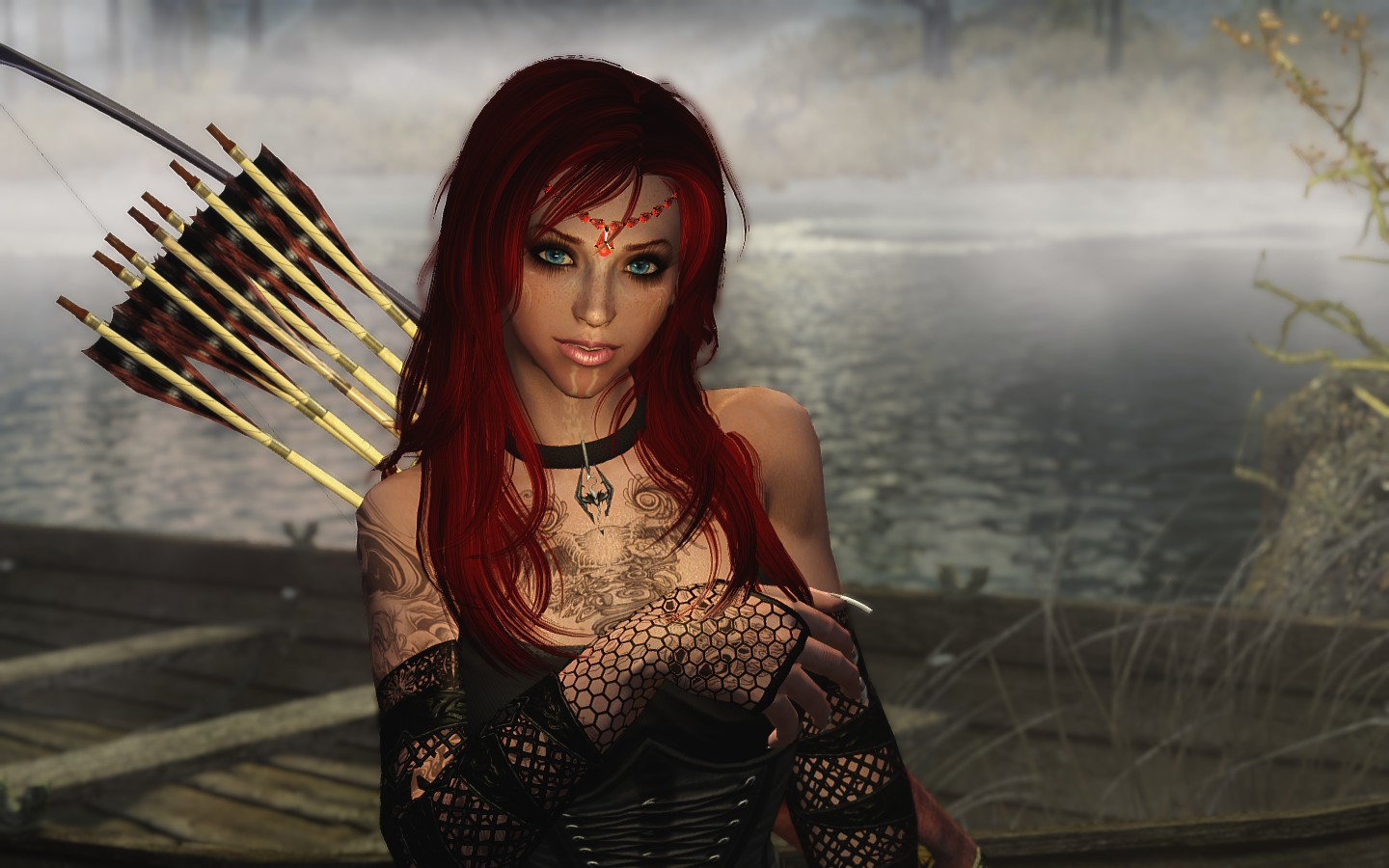 Skyrim Girl Wallpaper Steam Community Guide How To Make A Beautiful Female