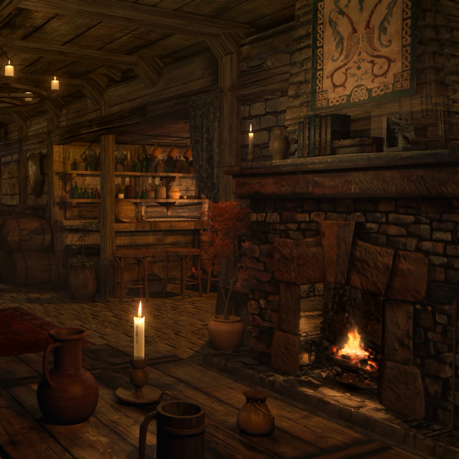 Fireplace Sounds Steam Workshop Fireplace Sounds Medieval Tavern Inn