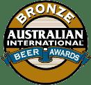 Australian International Beer Awards Bronze Medal