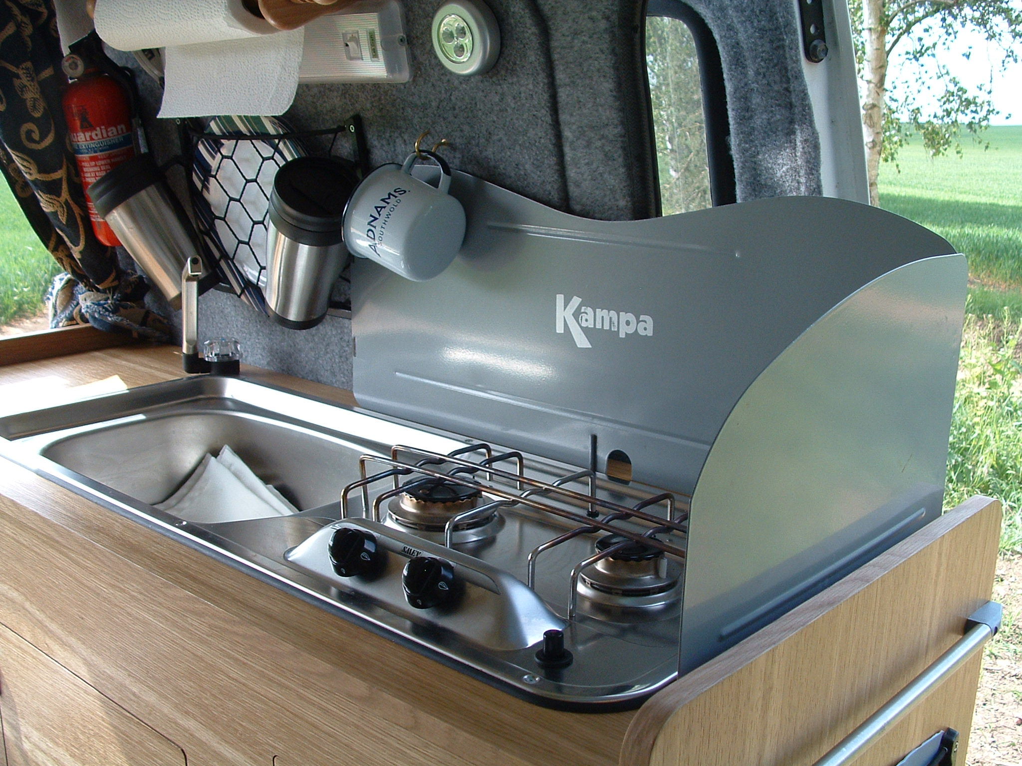 Caravan With Slide Out Kitchen Interior Idea Caravan Campers Space Airstream Dream