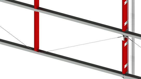 Vertical Cladding Rail Duggan Steel Group