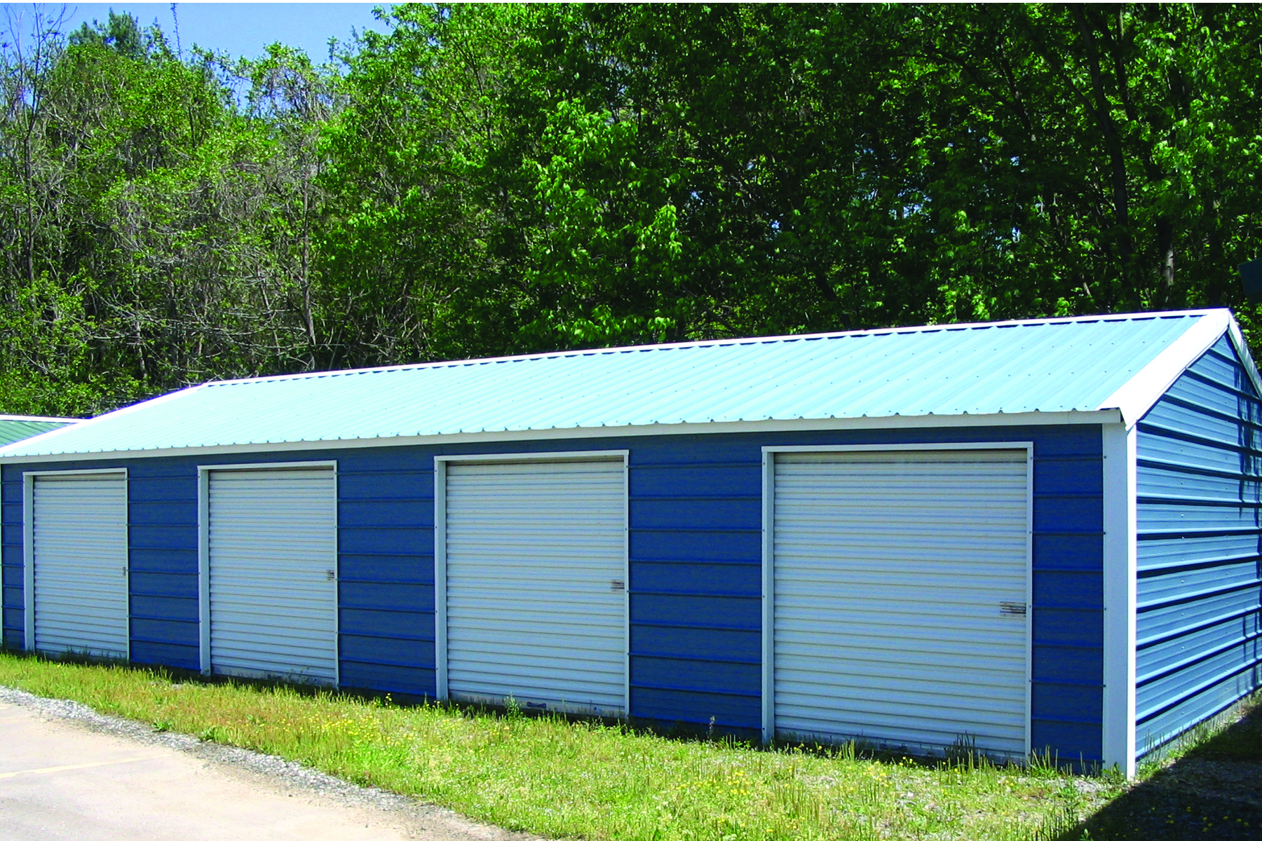 Garage Storage Buildings Metal Building Products And Styles Steel Building Garages