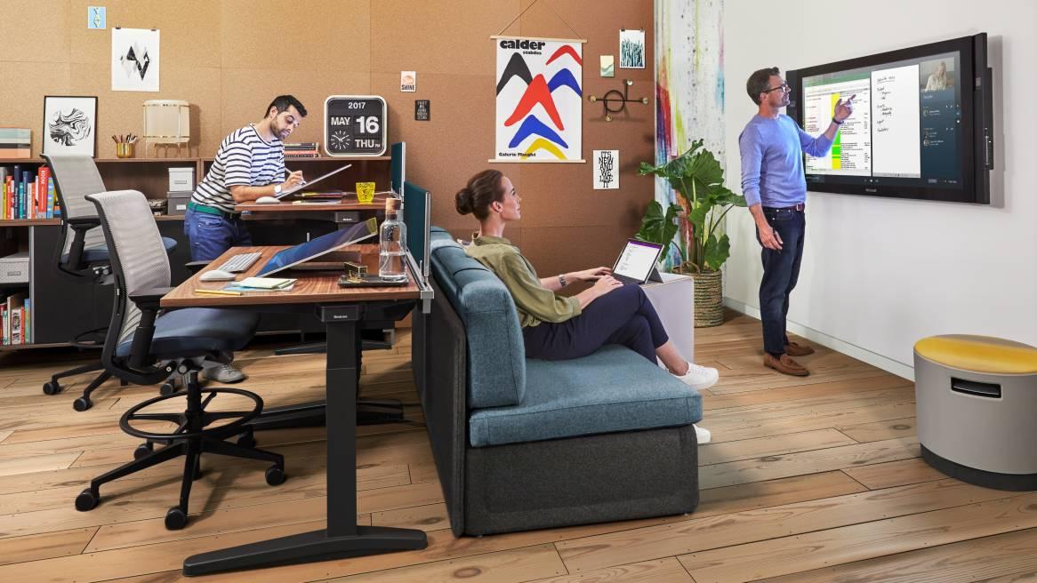 Ology Ergonomic Adjustable Office Desk - Steelcase