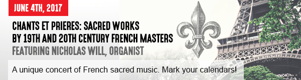 Chants Et Prieres: Sacred works by 19th and 20th Century French Masters