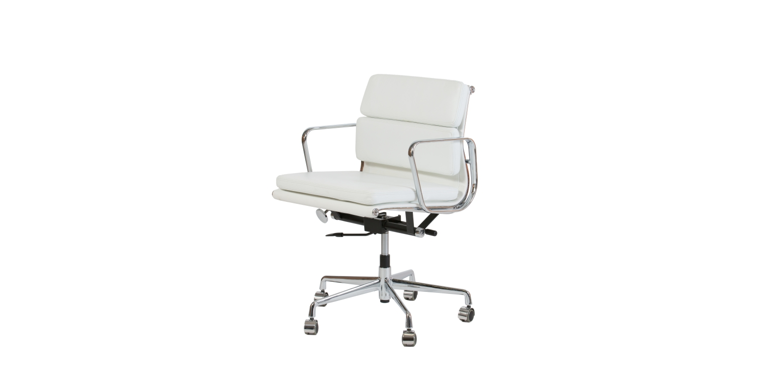Eames Chair Weiß Stockware Sales - Ea 217 Aluminium Group Chair Charles Eames