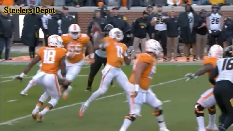 Joshua Dobbs Now Understands Tennessee HC Butch Jones\u0027 \u0027Annoying