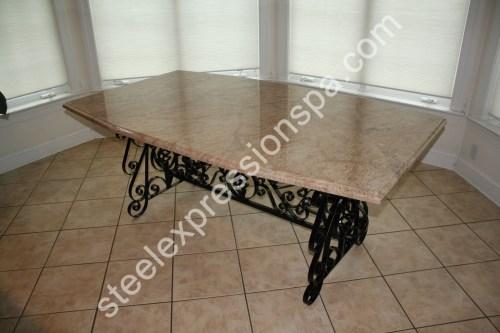 Medium Of Wrought Iron Furniture