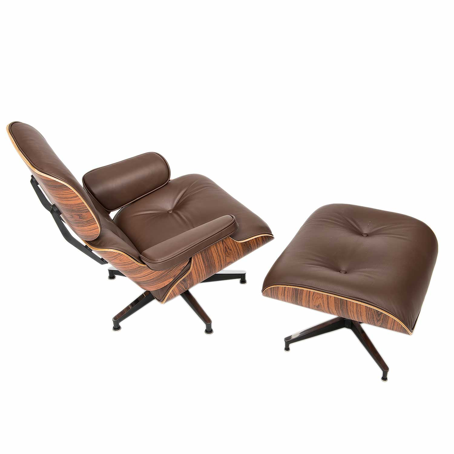 Eames Ottoman Lounge Chair And Ottoman
