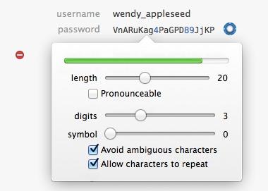 1Password Generator