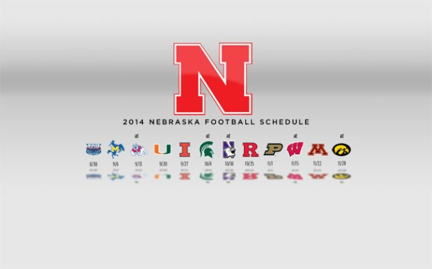 2014 Nebraska Football Schedule