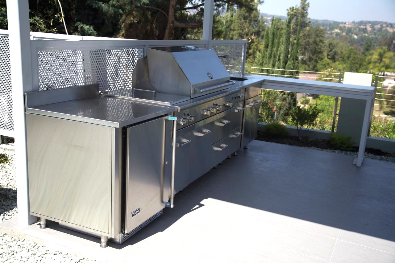 Outdoor Stainless Steel Cabinets Stainless Steel Outdoor Kitchens Steelkitchen