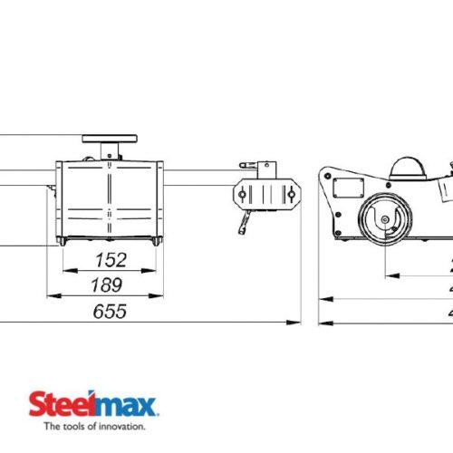 Li\u0027l Runner Portable Fillet Welding Carriage - Steelmax Steelmax