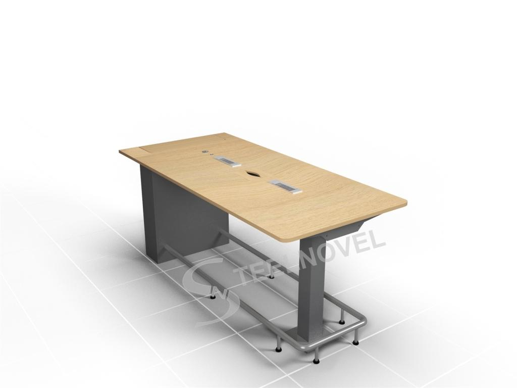 Table Haute Grise Table Haute 6 Personnes Latest Table Haute Cuisine Grise