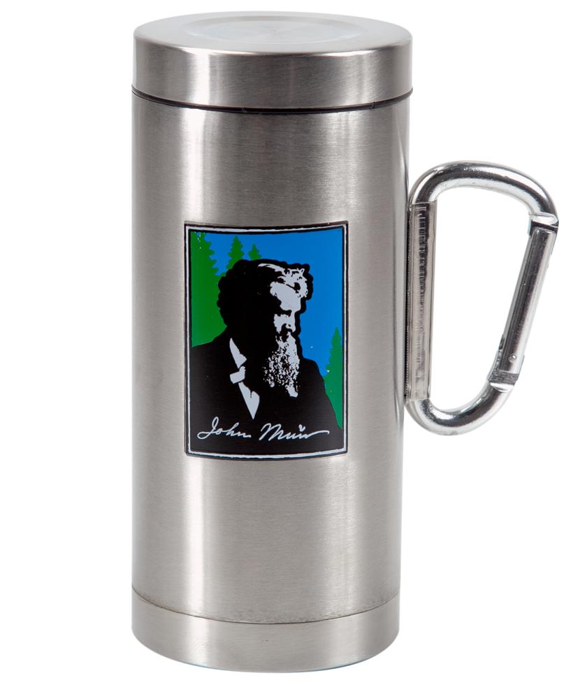 Elegant Oz Muir Tumbler Carabiner Handle Stainless Steel Insulated Tumblers Mugs Steelys Small Metal Coffee Cups Fashioned Metal Coffee Cups furniture Metal Coffee Cups